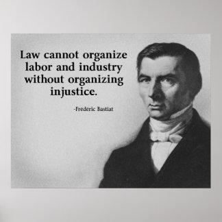 Bastiat Labor Quote Poster