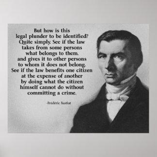 Bastiat Plunder Poster