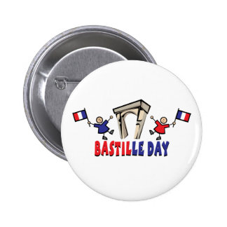 Bastille Day! 6 Cm Round Badge