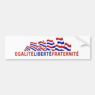 Bastille Day Bumper Sticker