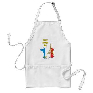 Bastille Day July 14 Standard Apron