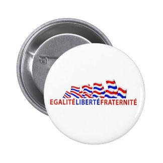 Bastille DayButton 6 Cm Round Badge