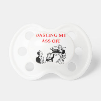 basting baby pacifiers