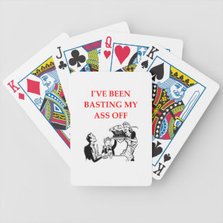 basting card deck
