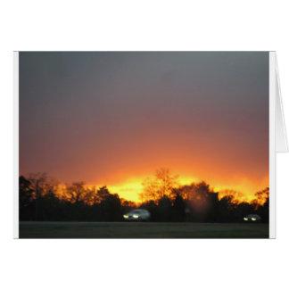 Bastrop Fire Greeting Card