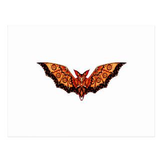 Bat 1 postcard