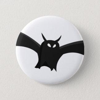 Bat #2 6 cm round badge