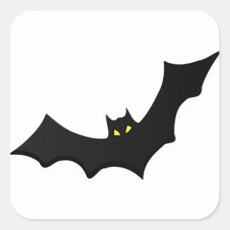 Bat #3 square sticker