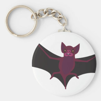 Bat #9 key ring