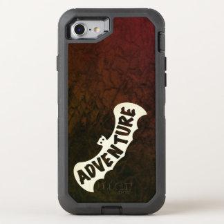 BAT ADVENTURE SIGNAL by Slipperywindow OtterBox Defender iPhone 8/7 Case