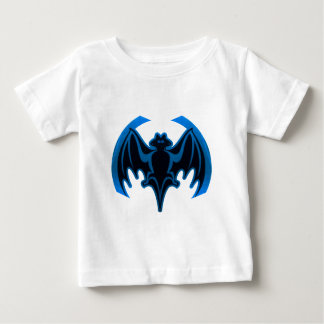 Bat Blue The MUSEUM Zazzle Gifts Baby T-Shirt