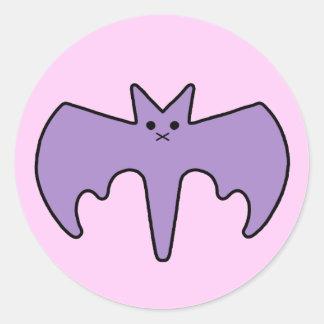 Bat Brat cutie Round Sticker