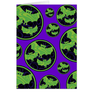 Bat Bubbles Card