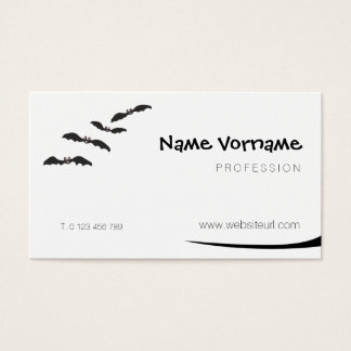 Bat Business Card