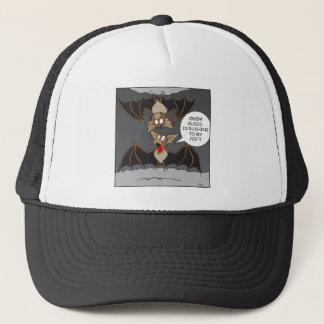 Bat Cartoon Trucker Hat