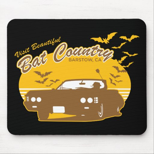 Bat Country - we can't stop here Mouse Mats