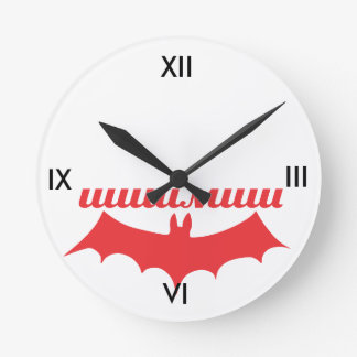 bat cyrillic wallclock