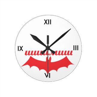 bat cyrillic wallclock