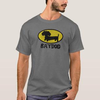 Bat Dog   Wiener Dog Superhero T-Shirt
