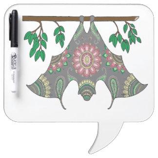 Bat Dry Erase Board
