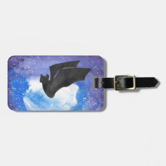 Bat In Flight Luggage Tag