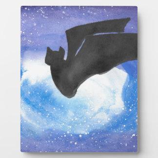 Bat In Flight Plaque