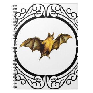 Bat loops fancy notebook