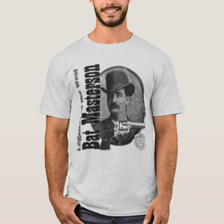 Bat Masterson Legendary Lawman Deluxe T shirt