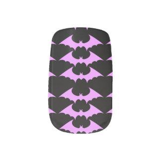 bat minx nail art