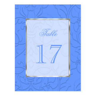 Bat Mitzvah Any Color Shadowed Damask Post Cards