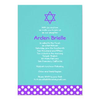 Bat Mitzvah Invitation Arden Mandy