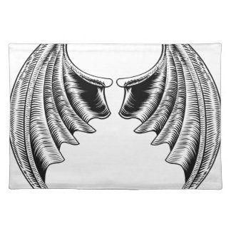 Bat or Dragon Wings Design Placemat