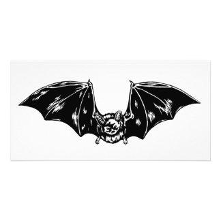 Bat Photo Card Template