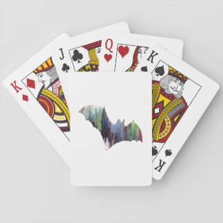 Bat Playing Cards