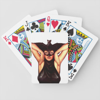 Bat Queen Bicycle Playing Cards
