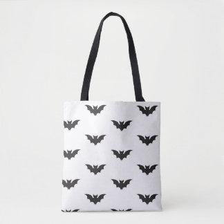 Bat silhouette tote bag