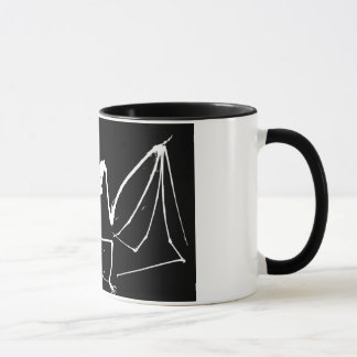 Bat skeleton mug