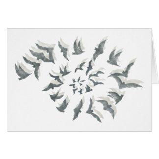 'Bat Spiral' Note Cards