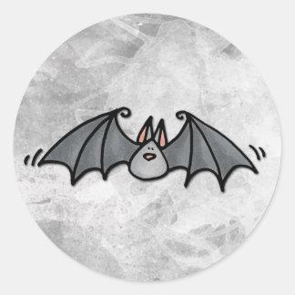 bat round stickers