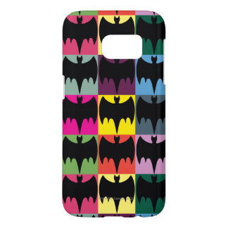 Bat Symbol Grid Pattern