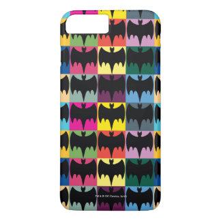 Bat Symbol Grid Pattern iPhone 8 Plus/7 Plus Case