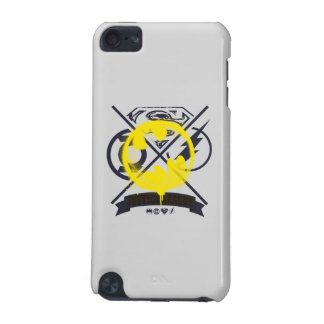 Bat Symbol Tagged Over Justice League iPod Touch 5G Case