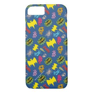 Bat Symbols Pattern iPhone 8/7 Case