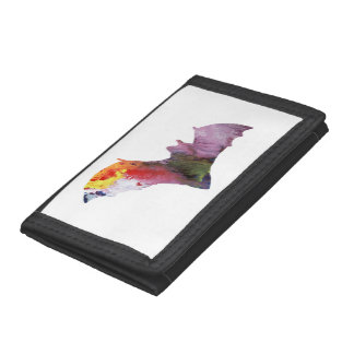 Bat Tri-fold Wallet