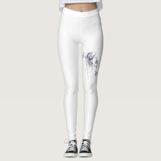 bat undead leggings