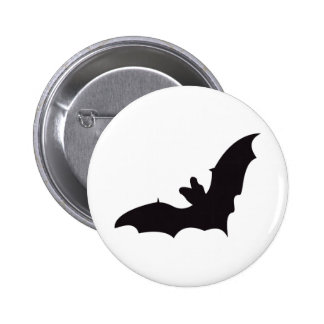 Bat Vintage Wood Engraving Buttons