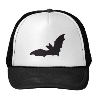 Bat Vintage Wood Engraving Hat