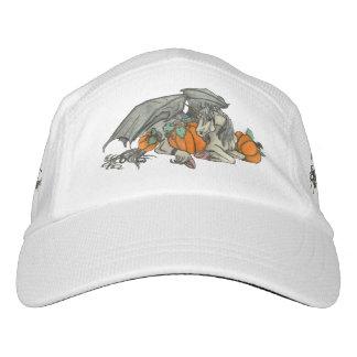 Bat winged Unicorn protecting a pumpkin patch Hat