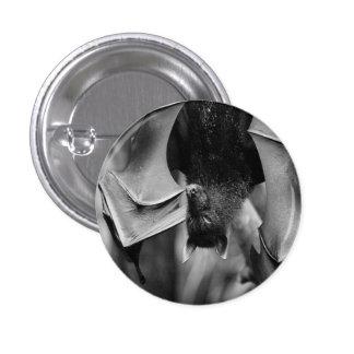 Bat Wings Gothic Punk Button Pin