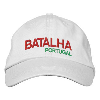 Batalha* Portugal Personalized Adjustable Hat Embroidered Baseball Caps